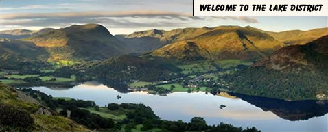 Welcome to the Lake District